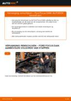 Hoe remschijven vooraan vervangen bij een Ford Focus DAW – Leidraad voor bij het vervangen