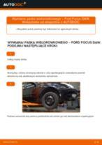 Jak wymienić pasek wielorowkowy w Ford Focus DAW - poradnik naprawy