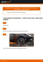 Automehaaniku soovitused, selleks et vahetada välja FORD Ford Focus DAW 1.8 Turbo DI / TDDi Õlifilter
