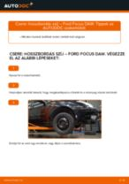Lépésről-lépésre PDF-útmutató - Seat Arosa 6h Axiális Csukló Vezetőkar csere