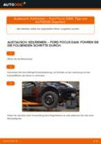 Montage Rippenriemen FORD FOCUS (DAW, DBW) - Schritt für Schritt Anleitung