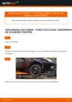Hoe multiriem vervangen bij een Ford Focus DAW – Leidraad voor bij het vervangen