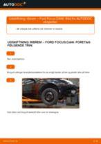 Automekaniker anbefalinger for udskiftning af FORD Ford Focus DAW 1.8 Turbo DI / TDDi Motorophæng