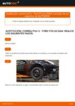 Cómo cambiar: correa poli V - Ford Focus DAW | Guía de sustitución