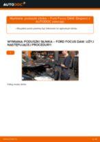 Jak wymienić poduszka silnika po prawej stronie w Ford Focus DAW - poradnik naprawy