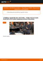 Jak vyměnit pravé silentblok motoru na Ford Focus DAW – návod k výměně