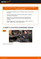 Skoda Octavia 1u5 Csapágyazás, kerékcsapágy ház cseréje: kézikönyv pdf