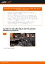 Schritt-für-Schritt-PDF-Tutorial zum Bremssattel Reparatursatz-Austausch beim FORD FOCUS (DAW, DBW)