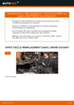 Comment changer : filtre d'habitacle sur Ford Focus DAW - Guide de remplacement