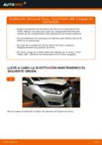 Cambio Juego de frenos de disco traseras y delanteras FORD bricolaje - manual pdf en línea