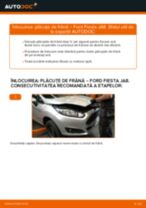 Schimbare Placute Frana FORD FIESTA: pdf gratuit
