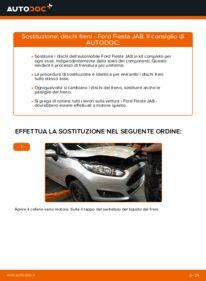 Come effettuare una sostituzione di Dischi Freno su 1.25 Ford Fiesta ja8
