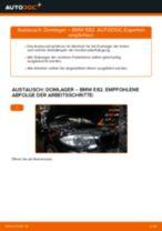 BMW 1 Coupe (E82) Domlager wechseln vorne und hinten Anleitung pdf