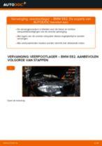 Hoe veerpootlager vooraan vervangen bij een BMW E82 – vervangingshandleiding