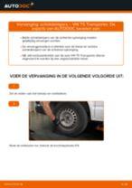 Schokdemper VW TRANSPORTER V Box (7HA, 7HH, 7EA, 7EH) monteren - stap-voor-stap tutorial