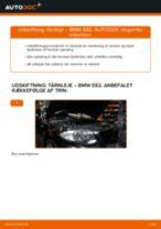 Udskift tårnleje for - BMW E82 | Brugeranvisning
