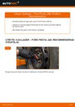 bak och fram Hjullager FORD Fiesta Mk6 Hatchback (JA8, JR8) | PDF instruktioner för utbyte