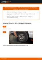 Bilmekanikers rekommendationer om att byta VW VW T5 Skåpbil 2.5 TDI 4motion Fjädrar