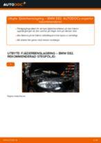 Byta fjäderbenslagring fram på BMW E82 – utbytesguide