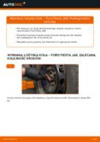 Samodzielna wymiana ożysko piasty koła przód lewy prawy FORD - online instrukcje pdf