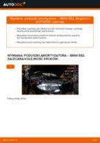 Jak wymienić poduszka amortyzatora przód w BMW E82 - poradnik naprawy