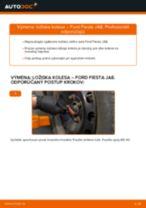 Príručka o výmene Hlava / čap spojovacej tyče riadenia v CITROËN C-CROSSER vlastnými rukami