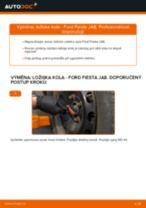 Jak vyměnit a regulovat Lozisko kola FORD FIESTA: průvodce pdf