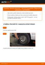 Jak vyměnit zadní tlumiče pérování na VW T5 Transporter – návod k výměně
