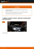 Jak vyměnit přední uložení tlumiče na BMW E82 – návod k výměně