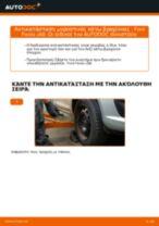 Πώς να αλλάξετε μπροστινός κάτω βραχίονας σε Ford Fiesta JA8 - Οδηγίες αντικατάστασης