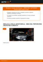 Kako zamenjati avtodel ležaj amortizerja spredaj na avtu BMW E82 – vodnik menjave