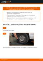 BILSTEIN 22-196859 para Transporter V Van (7HA, 7HH, 7EA, 7EH) | PDF tutorial de substituição