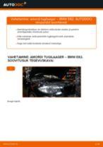 Kuidas vahetada BMW E82 esi-amordi tugilaager – õpetus