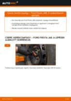 Elülső kerékcsapágy-csere Ford Fiesta JA8 gépkocsin – Útmutató