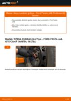 Ford Fiesta Mk6 Van darbnīcas rokasgrāmata