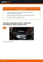 Kaip pakeisti ir sureguliuoti Stabilizatorius BMW 1 SERIES: pdf pamokomis