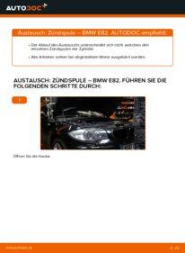 Wie der Wechsel durchführt wird: Zündspule BMW E82 120d 2.0 123d 2.0 135i 3.0 tauschen