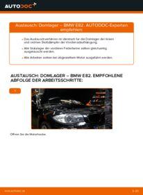 Wie der Wechsel durchführt wird: Domlager BMW E82 120d 2.0 123d 2.0 135i 3.0 tauschen