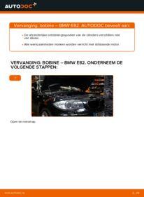 Vervanging uitvoeren: Bobine BMW 1 SERIES
