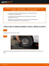 Comment effectuer un remplacement de Amortisseurs sur 2.5 TDI VW T5 Van