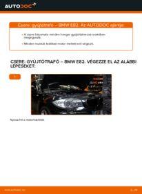 Hogyan végezze a cserét: 120d 2.0 BMW E82 Gyújtótekercs