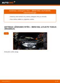 Kaip atlikti keitimą: 120d 2.0 BMW E82 Uždegimo ritė