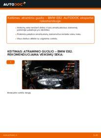 Kaip atlikti keitimą: 120d 2.0 BMW E82 Amortizatoriaus Atraminis Guolis