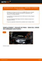 Remplacement Disque BMW 1 SERIES : pdf gratuit