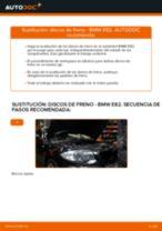 Tutorial paso a paso en PDF sobre el cambio de Discos de Freno en BMW 1 Coupe (E82)