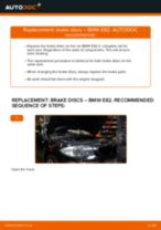DIY BMW change Radiator engine cooling - online manual pdf
