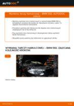 Jak wymienić tarcze hamulcowe przód w BMW E82 - poradnik naprawy