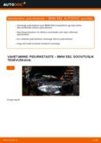 BMW tagumine ja eesmine Piduriketas vahetamine DIY - online käsiraamatute pdf