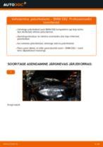 Asendamine Piduriketas BMW 1 SERIES: käsiraamatute