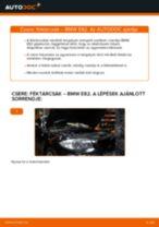 Hogyan cseréje és állítsuk be Féktárcsák BMW 1 SERIES: pdf útmutató
